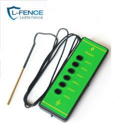 Couleur vert vif 1000-6000V 6 lumières au néon de lumière Testeur de tension de clôture