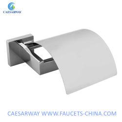 Gesundheitlicher Ware-Badezimmer-Zubehör-Edelstahl-Toilettenpapier-Halter mit Kappe