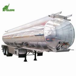 2 Assen 30000 Liter Vloeibaar Opslag Transport Tanker Semi Trailer 304 Roestvrijstalen Watertank
