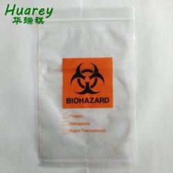 Kundenspezifische transparente gedruckte mit Reißverschluss wasserdichte freie PET Reißverschluss-Verschluss-Beutel-Plastikverpackung
