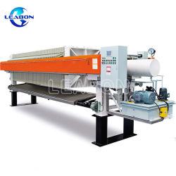 Filtro de membrana automática pressione com Alta Pressão para desidratação de lamas