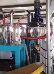 Le Pet TPU Cristallisoir cristallisation et séchage Machine