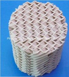 Ceramische Gestructureerde Verpakking in het Golf Chemische Vullen van Chemische Verpakking voor de Toren van de Distillatie