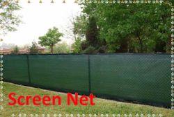 Privacidade de cerca de malha de tela pára-verde panos de malha