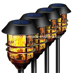 2019 Nieuwe Aluminim Led Solar Garden Flakkerende Flame Torch Light