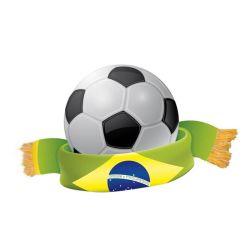 Impresos digitales al por mayor de los aficionados al deporte el fútbol bufanda Diseño personalizado