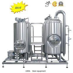 1000L 304 Fermentação de cerveja em aço inoxidável