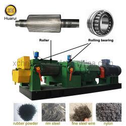 Bandenlichter/rubberbreker voor afvalrecyclinginstallatie voor korrelbanden