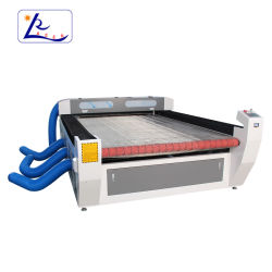 防水シート販売のためのNon-Wovenファブリックテントの二酸化炭素レーザーの打抜き機