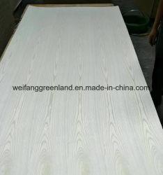 White China Ash folheado de madeira contraplacada comercial enfrenta, contraplacado para móveis