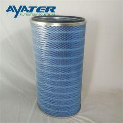 Alimentación Ayater cartucho de filtro de polvo para el colector de polvo de poliéster plegado/cartucho de filtro Industrial