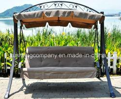 気が長い庭/テラス/ホテルの家具の鋼鉄振動椅子の庭の振動
