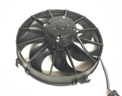 24V 7 de Plastic Ventilator van de Condensator van Bladen Universele, AC de KoelVentilator van de Condensator