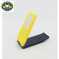 Ningbo usine pile bouton plastique carrée mini livre voyant Clip