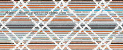 100% Polyester maison moderne Sellerie tissu tartan textiles