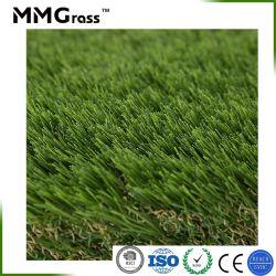 Paisaje de hierba sintética artificial para jardín