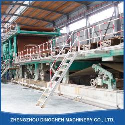 폐기물 Paper Recycling Line Outout Corrugated Paper (2400mm)