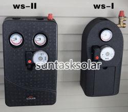태양열 히터용 이중 파이프라인 태양열 전원 스테이션(WS-II)