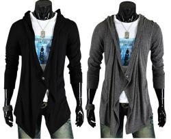 Europe / American Style Men's Cardigan Sweater Coat pour le printemps et automne le commerce de gros
