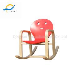 Pequenas Funny Rocking Madeira cadeira de criança para bebés