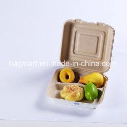 Bols/cups/disques/plaques/support/Boîte à gâteau, bagasse/Matériel de paille de blé, 100 % compostable, Eco Friendly, Earthable vaisselle biodégradable