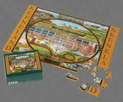 Commerce de gros cadeau de promotion de papier personnalisé Kids Jigsaw Puzzle avec des prix moins cher
