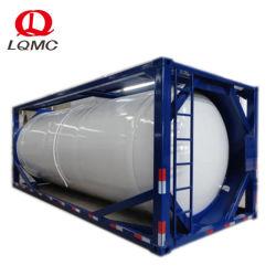 Csc를 가진 24000L 연료 물 액체 ISO 20FT 탱크 콘테이너