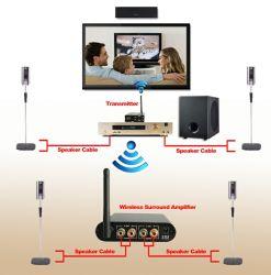 Amplificador surround sem fios para o Sistema de Cinema em Casa