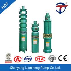 Qj Oil-Filled submersible en acier inoxydable de la pompe de puits profond du moteur