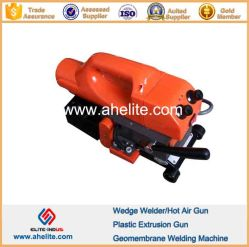 تداخل بلاستيكي لحام الإسفين الساخن HDPE PVC LLDPE Geomembane