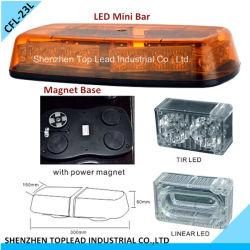 Mini barra clara /Strobe do diodo emissor de luz que gira barra do diodo emissor de luz da barra clara de advertência /Magnet e do plugue do diodo emissor de luz (CFL-23L)