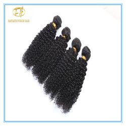 El Color Natural sin procesar rizado rizado el cabello con el precio de fábrica Wfikc indio-001