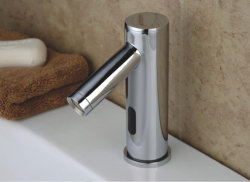 Хромированная отделка латунь датчик автоматического струей воды Автоматический водяной струей воды