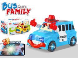 B-/oplastikbus mit Spielzeug des hellen Fahrzeug-3D (H6614047)