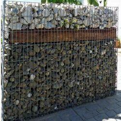 Warm gegalvaniseerde gegalvaniseerde gegalvaniseerde geeldraad steenkooi Gabion Basket
