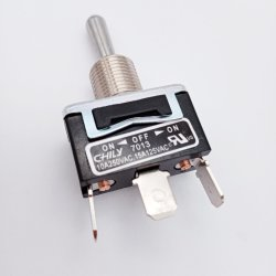 Comando del segnale dell'interruttore a levetta in metallo per apparecchiature elettriche e macchine