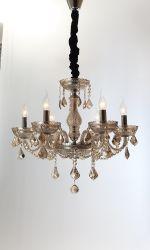 El estilo europeo Classic Luxury Salon Decoracion seis luces K9 araña de cristal (BL282/6)