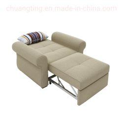 2 em 1 moderna e funcional única cadeira sofá-cama dobrável