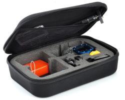 Zwarte Waterdichte Harde Shell van de douane Reis die Beschermende Toolbox/het Geval van EVA van de Opslag voor Camera Gopro dragen
