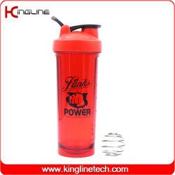 Novo design 2020 700ml garrafa de água de plástico agitador de proteínas (KL-7180)