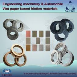 Maquinaria de ingeniería de materiales de fricción del freno húmedo Paper-Based
