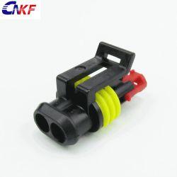 AMP Modu Superseal автомобильной Micro емкостью 2 полюс 282080-1водонепроницаемый пластиковый Auto проводной разъем
