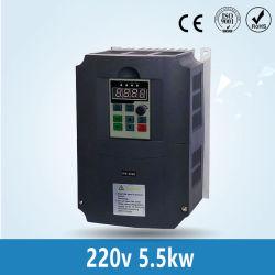 5.5kw/4kw/2.2kw 220V Wechselstrom-Frequenz-Inverter gab /Frequency-Konverter mit 3 Phase 650Hz Wechselstrommotor-Wasser-Pumpen-Controller-/AC-Laufwerken aus