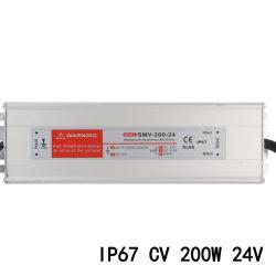 200W 24VDC 8.3A à prova de tensão constante de comutação do LED de alimentação de energia