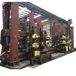 Réservoir sous pression chimique / réservoir de GNL Équipement de soudage, personnalisé circulaire et couture droite de la machine de soudage&