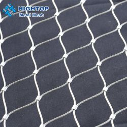 庭の塀のための適用範囲が広いステンレス鋼304 316ワイヤーロープの網のネット
