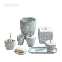 Envio rápido de Stock porcelana grés cerâmico decoração do Hotel Casa de Banho Itens Definir