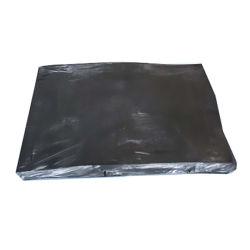 Superfine noir pour chaussures en caoutchouc recyclé recyclée seul