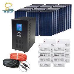 سعر منخفض 10 كيلو واط 15كيلو واط 20 كيلو واط من الشبكة/اللوحة الشمسية المختلطة المقيدة نظام الطاقة