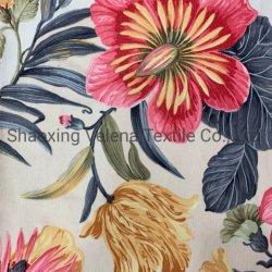 소파 직물을%s 직물 직물 100%Polyester 코듀로이 꽃 인쇄 가구 직물 실내 장식품 직물 장식적인 직물은 빠른 선적을%s 상품을 준비한다